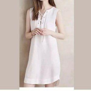 Anthropologie Cloth & Stone Navarre Dress in White